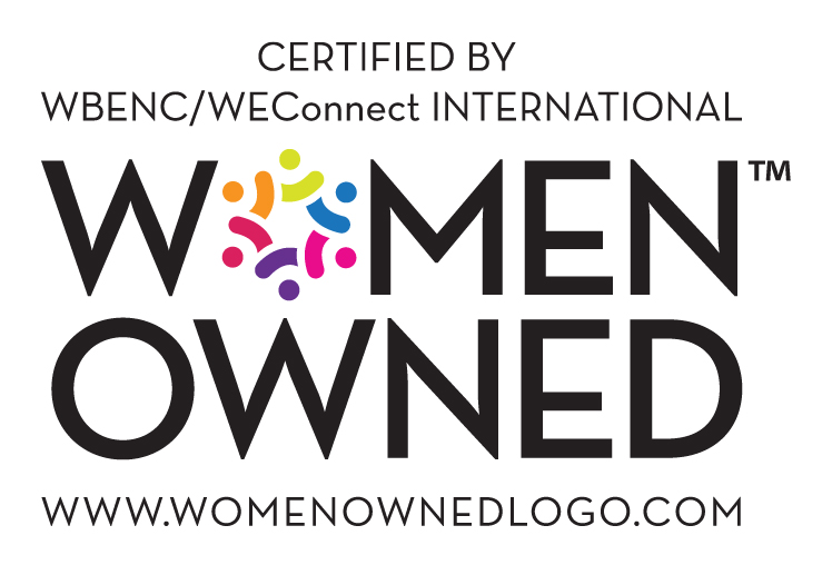 Certified by WBENC Women Owned Logo
