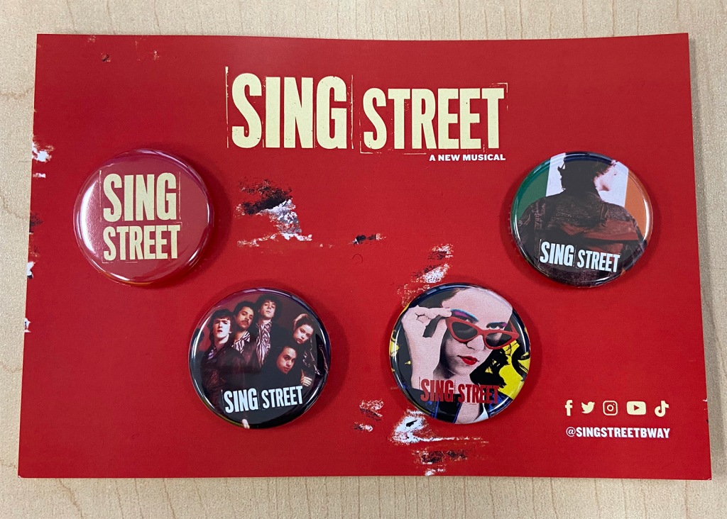 Button pack for Sing Street