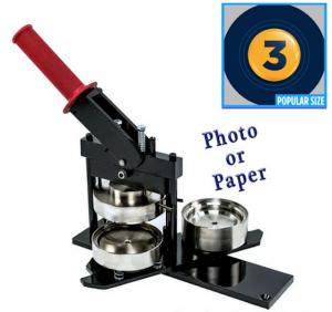 3 Inch Photo or Paper Button Machine