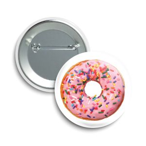 The Donut Button  |  June 2021  ❤️  Saint Mary's Food Bank® Feeding America