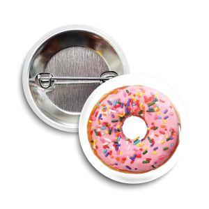 The Doughnut Button     June 2021  ❤️  Charity = Feeding America