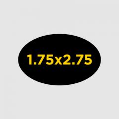 "1.75x2.75"" Oval Custom Buttons"