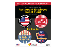 Support the Cause - Eat Local