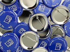 Custom Button Pins