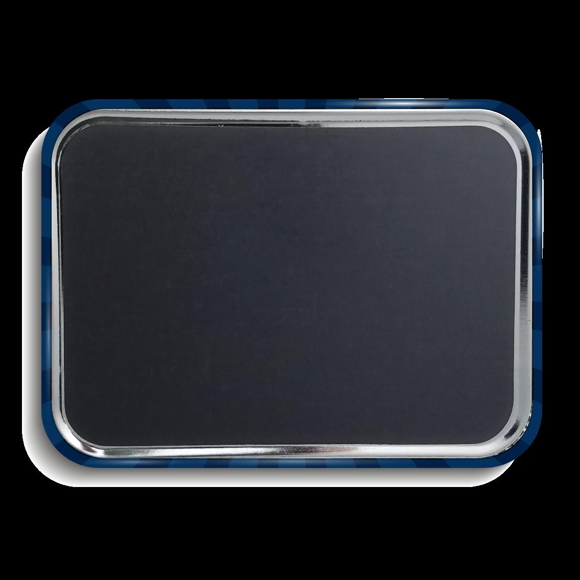 rectangle fridge magnet button