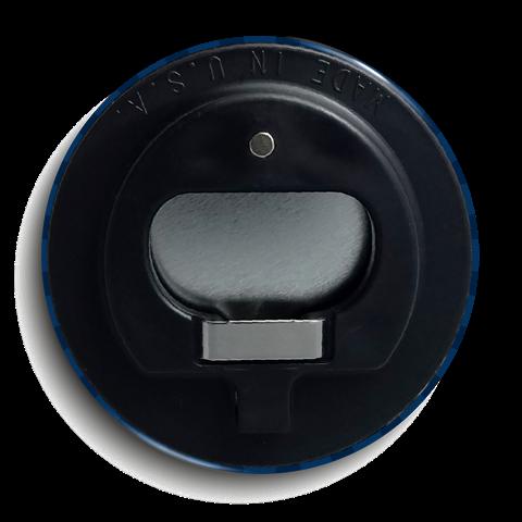 bottle opener button